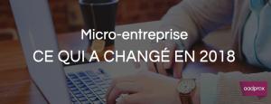 Les 5 nouveautés du régime Micro-Entrepreneur