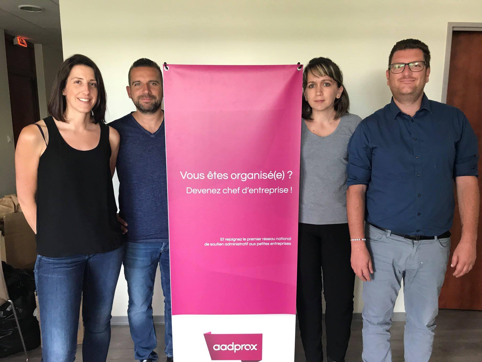 Portrait des nouveaux assistants administratifs Aadprox – Juin 2018