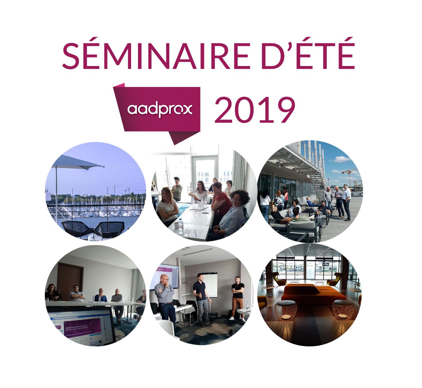 Compte rendu du séminaire d'été 2019