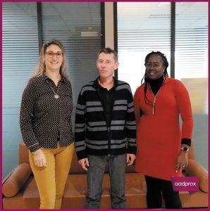 Portrait des nouveaux assistants administratifs Aadprox – Décembre 2019