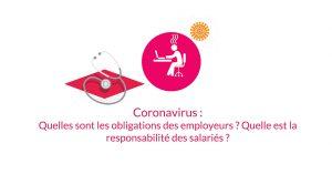 Coronavirus : Quelles sont les obligations des employeurs ? Quelle est la responsabilité des salariés ?