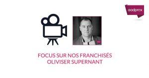 Focus sur Olivier Supernant membre du réseau depuis plus d'un an