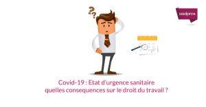 Coronavirus : on fait le point sur l'état d'urgence sanitaire ?
