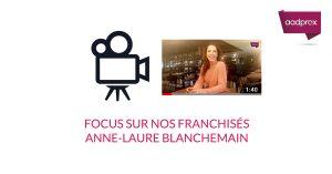 Focus sur Anne-Laure Blanchemain