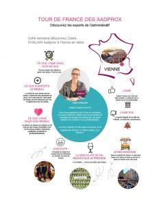 Tour de France des Aadprox : Claire CHALAIN