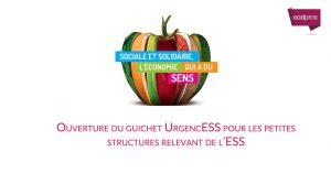 Ouverture du guichet UrgencESS pour les petites structures relevant de l'ESS